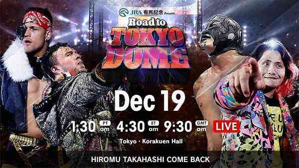 Watch NJPW Road to Tokyo Dome 2020 12/19/19
