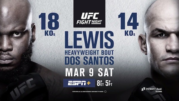 Watch UFC Fight Night 146: Lewis vs. Dos Santos