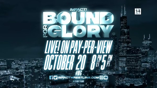 Watch iMPACT Wrestling Bound for Glory 2019 10/20/19 Online