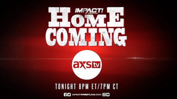 Watch iMPACT Wrestling Homecoming 2019 10/1/19