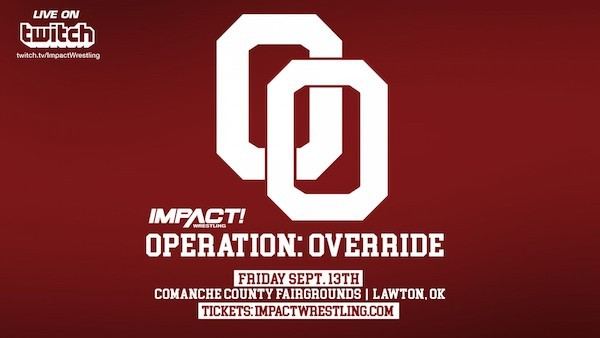 Watch iMPACT Wrestling Operation: Override 9/13/19