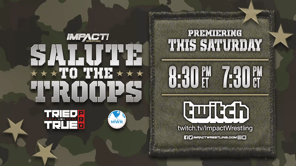 Watch iMPACT Wrestling: Salute to the Troops 2019 5/11/19