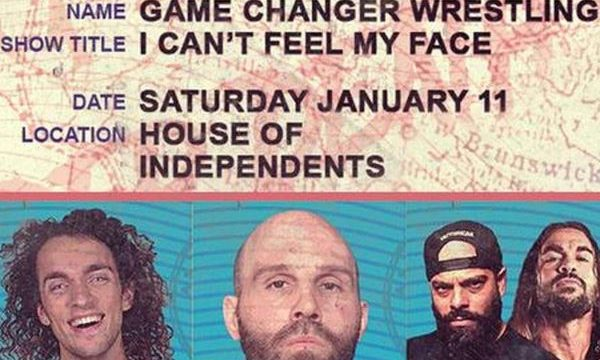 GCW: I Can't Feel My Face 11 Jan 2020 Live Stream Full Shows Online
