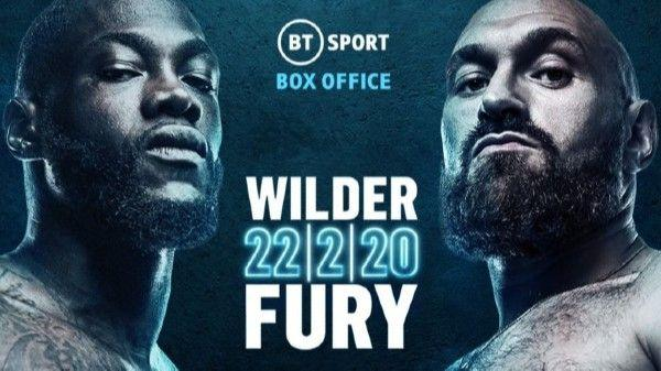 Boxing Deontay Wilder vs. Tyson Fury II 2/22/2020