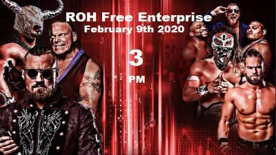 ROH Wrestling Free Enterprise 2/9/2020