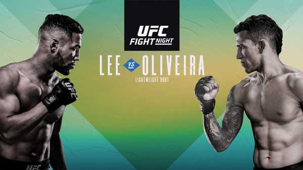 Watch UFC Fight Night 170 : Lee vs. Oliveira 3/14/20 – 14th March 2020