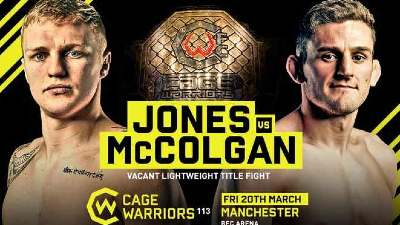 Watch Cage Warriors 113 3/20/20 – 20 March 2020