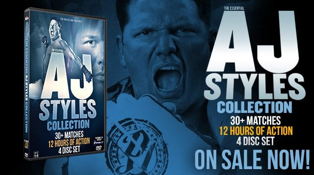 DVDx4 The Essential AJ Styles Collection Full Show Free