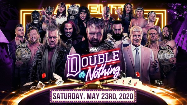 Watch AEW Double Or Nothing 2020 PPV 5/23/20 – 23 May 2020
