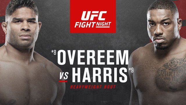 Watch UFC Figth Night 172 Overeem vs Harris 5/16/20 – 16 May 2020