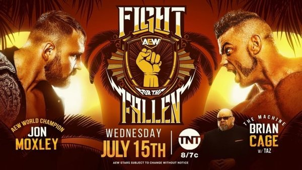 Watch AEW Fight For The Fallen 2020 PPV 7/15/20 – 15 July 2020