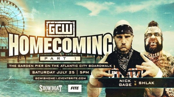 Watch GCW Homecoming Weekend Part 1 7/25/20 – 25 July 2020