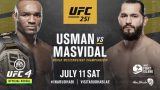 Watch UFC 251 : Usman vs Masvidal 7/11/20 – 11 July 2020