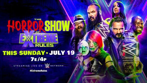 Watch WWE Extreme Rules (The Horror Show) 2020 PPV 7/19/20 – 19 July 2020