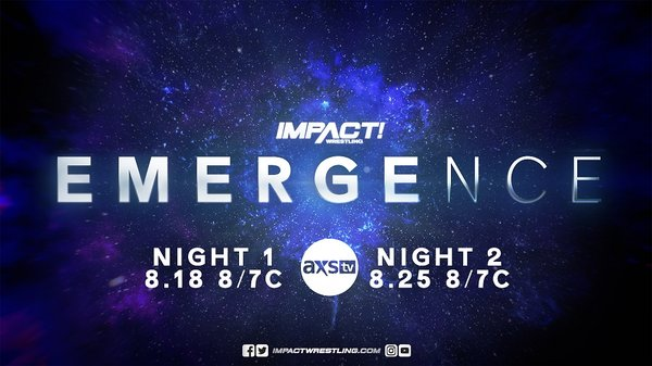 Watch Impact Wrestling Emergence Night 2 8/25/20