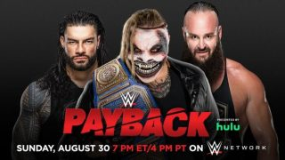 Watch WWE PAYBACK 2020 PPV 8/30/20 – 30 August 2020