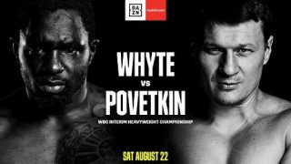 Watch Whyte vs Povetkin 8/22/20 – 22 August 2020