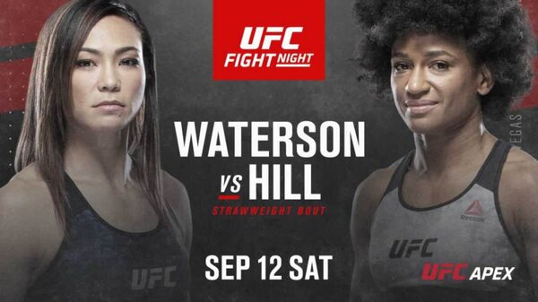 Watch UFC Fight Night 177 : Waterson vs Hill 9/12/20 – 12 September 2020