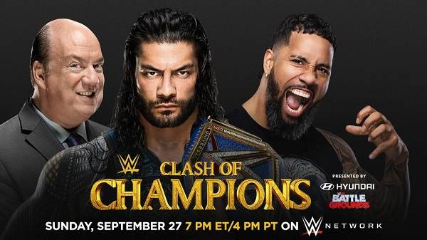 Watch WWE Clash Of Champions 2020 PPV 9/27/20 – 27 September 2020
