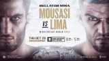 Watch Bellator 250: Mousasi vs Lima 10/29/20 – 29 October 2020