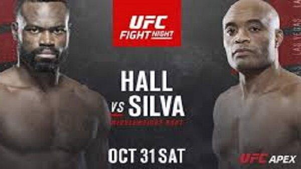 Watch UFC Fight Night: Hall vs Silva 10/31/2020 – 31 October 2020