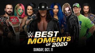 Watch WWE The Best Momments Of 2020 10/11/20 – 11 October 2020