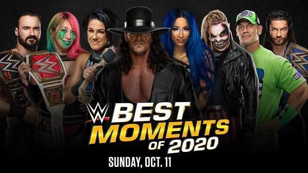 Watch WWE The Best Momments Of 2020