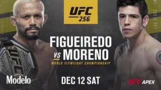 Watch UFC 256 : Figueiredo vs Moreno 12/12/20 – 12 December 2020