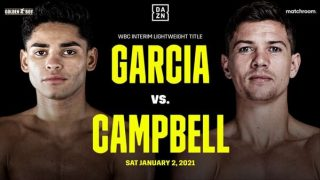 Watch Ryan Garcia vs Luke Campbell 1/2/21 – 2 January 2021