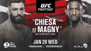 Watch UFC Fight Night: Chiesa vs Magny 1/20/21 – 20 January 2021