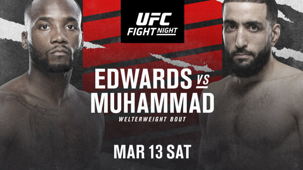 Watch UFC Fight Night: Edwards vs Muhammad 3/13/21 – 13 March 2021