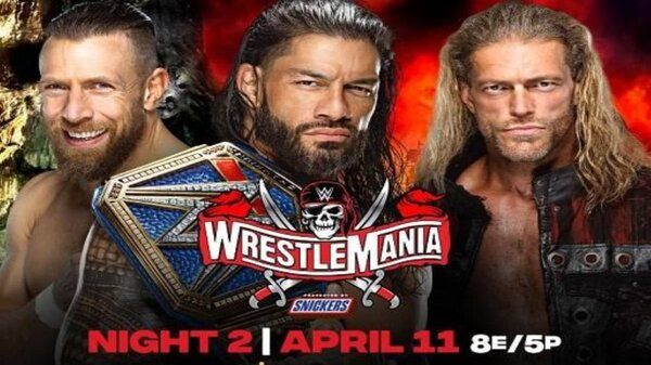 Watch WWE WrestleMania 37 Night 2 PPV 4/11/21 – 11 April 2021