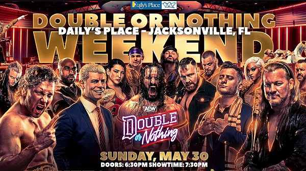 Watch AEW Double Or Nothing 2021 PPV 5/30/21 – 30 May 2021