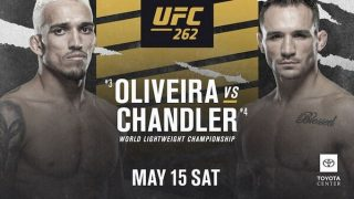 Watch UFC 262 : Oliveira vs Chandler PPV 5/15/21 – 15 May 2021