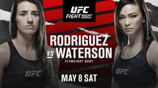 Watch UFC Fight Night: Rodriguez vs Waterson 5/8/21 – 8 May 2021