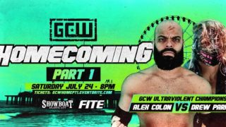 Watch GCW Homecoming Weekend Part 1 PPV 7/24/21 – 24 July 2021