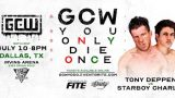 Watch GCW You Only Die Once 7/10/21 – 10 July 2021